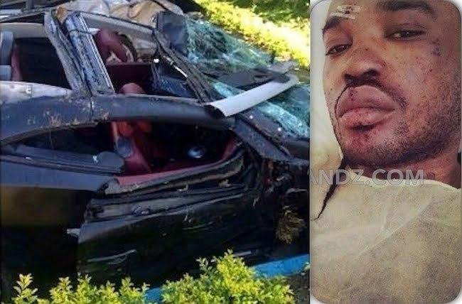 Tommy Lee crash car