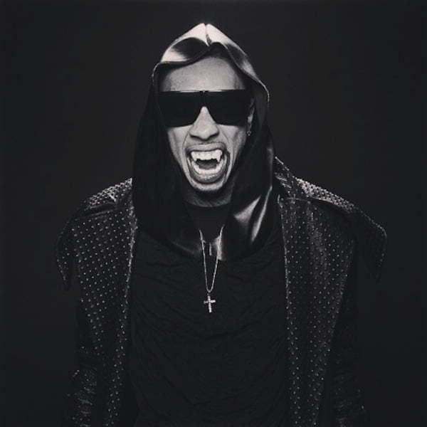 Tyga vampire throw up