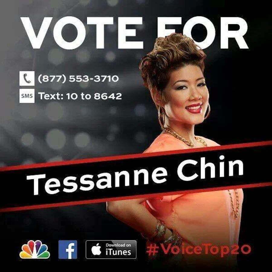 Vote Tessanne Chin The Voice