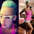 Amber Rose post baby
