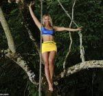 Beyonce climb tree Jamaica