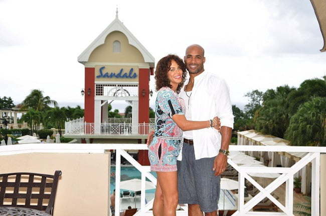 Boris kodjoe and wife nicole ari parker jamaica geteaway for Best vacations in december for couples