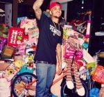 Chris Brown toy drive