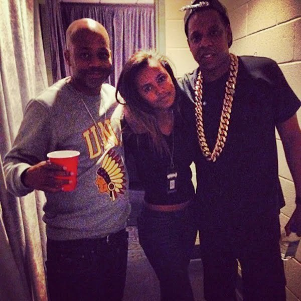 Dame Dash daughter Ava and Jay-Z
