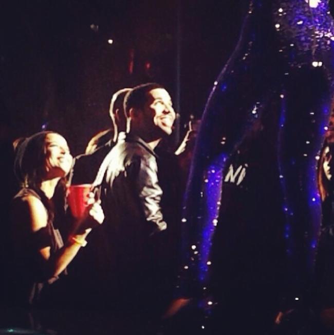 Drake and Zoe Kravitz