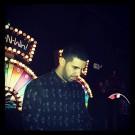 Drake at beyonce album party