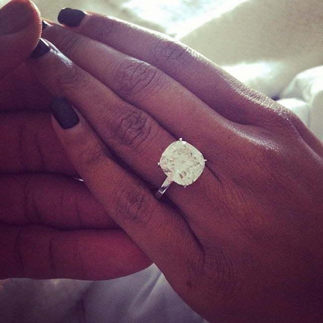 Dwayne Wade Gabrielle Union egagement ring