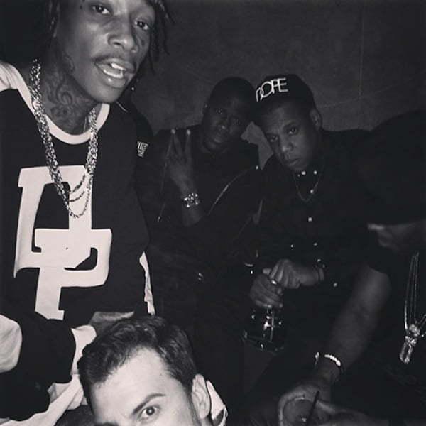 Jay-Z Wiz Khalifa and Kevin Hart