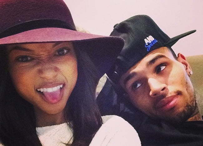Karrueche Tran Chris Brown 2014 pic