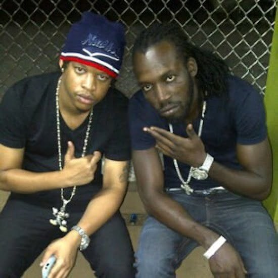 Mavado and Chase Cross
