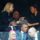 Michelle Obama and Denmark PM