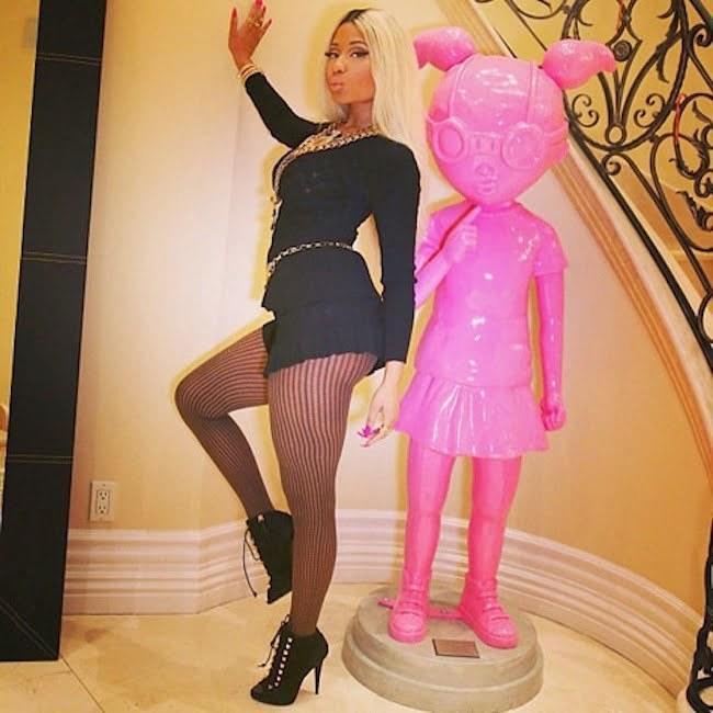 Nicki Minaj Celebrates 31st Birthday With Kylie Jenner