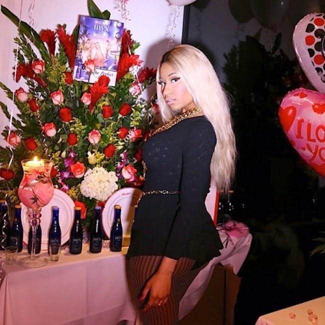 Nicki Minaj birthday bash