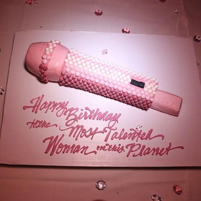 Nicki Minaj birthday cake