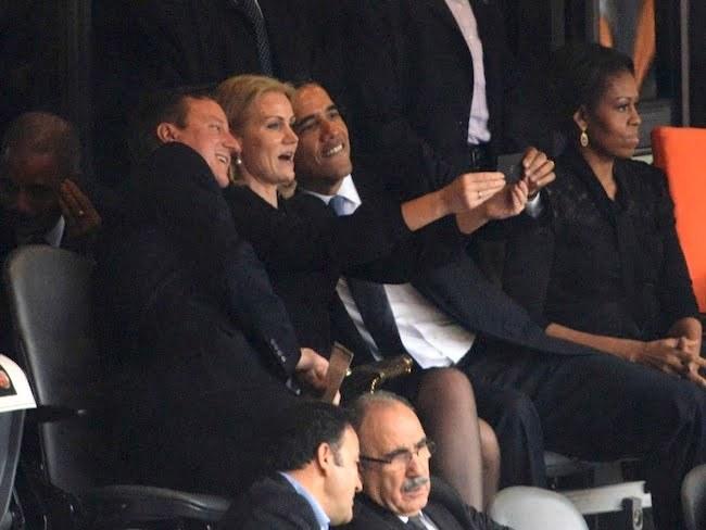 President Obama and Denmark PM Selfie