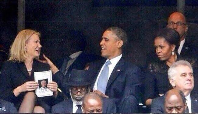 President Obama selfie copy