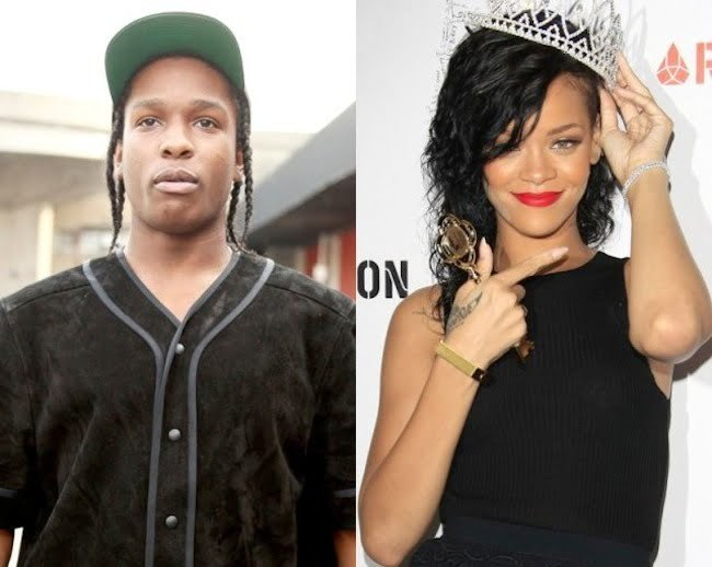 Rihanna and ASAP Rocky dating