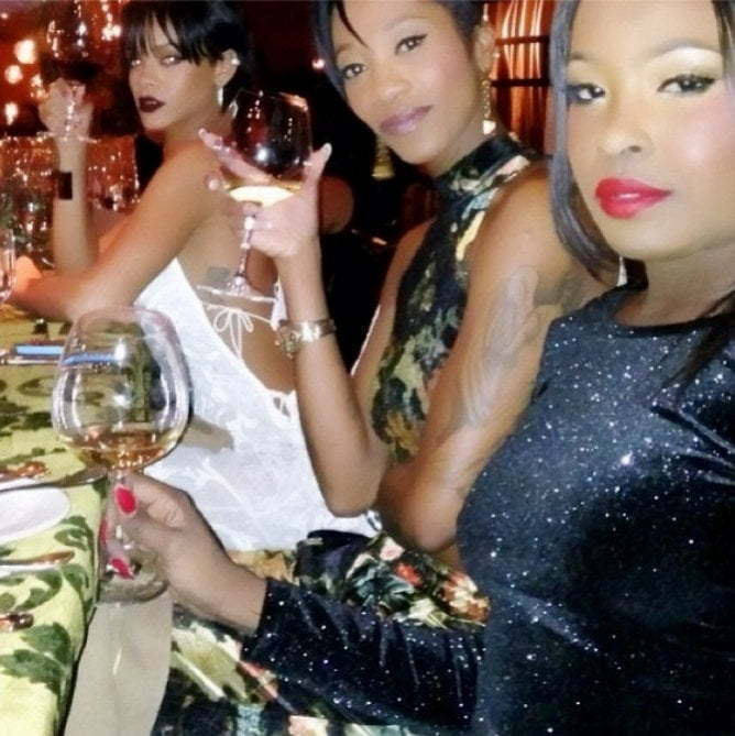 Rihanna and Melissa