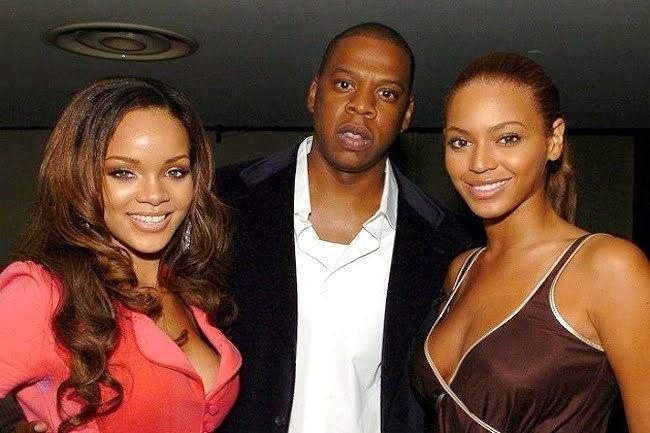 Rihanna jayz beyonce