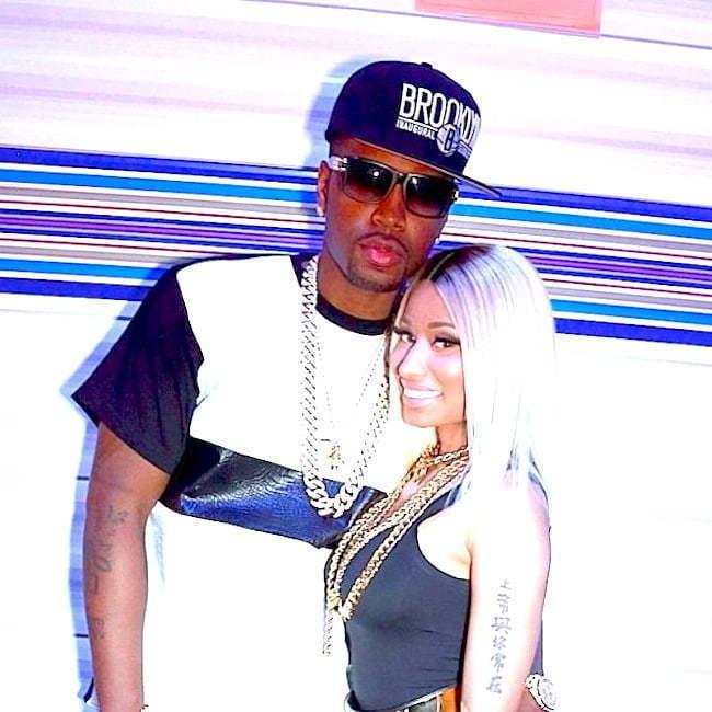 Safaree and Nicki Minaj 2014