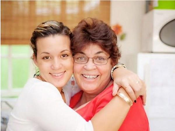 Tami Chynn and mom Christine