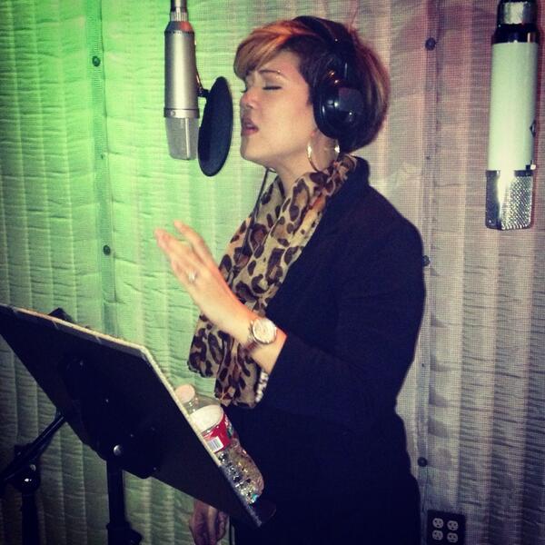 Tesanne Chin in the studio
