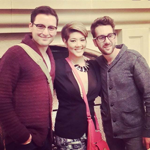 Tessanne Chin James Wolpert and Will Champlin