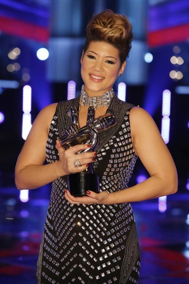 Tessanne Chin The Voice Trophy
