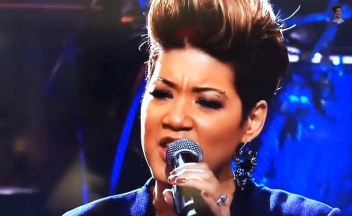 Tessanne Chin on Jay Leno