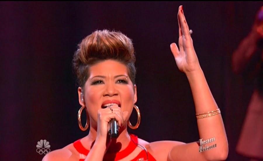 Tessanne Chin win the voice