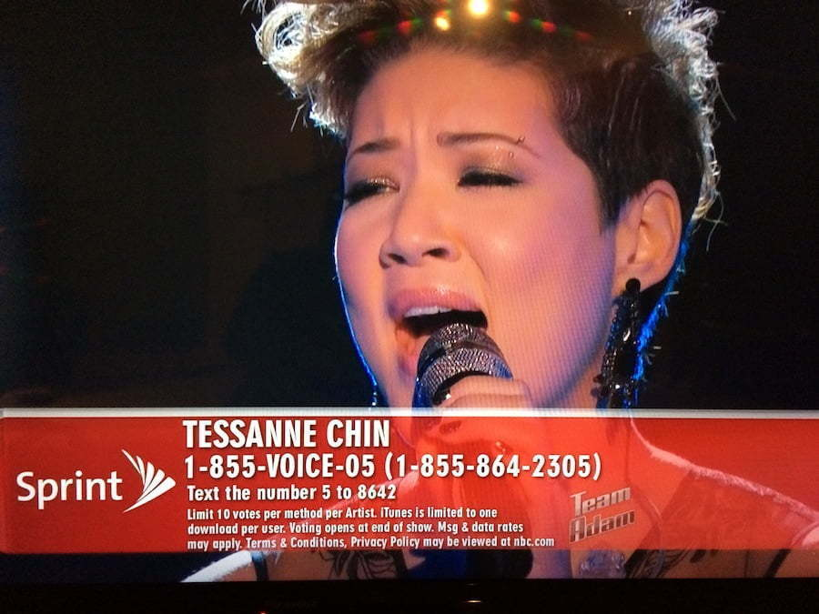 Tessanne The Voice