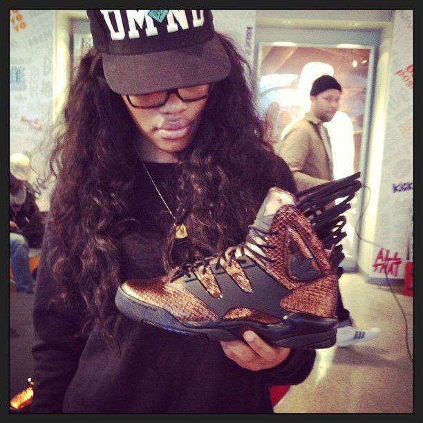 Teyana Taylor adidas sneaker