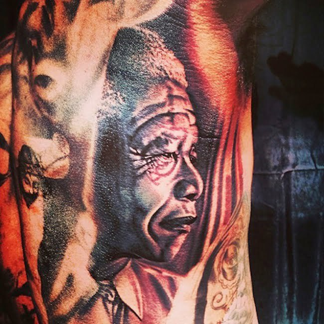 The Game Mandela tattoo