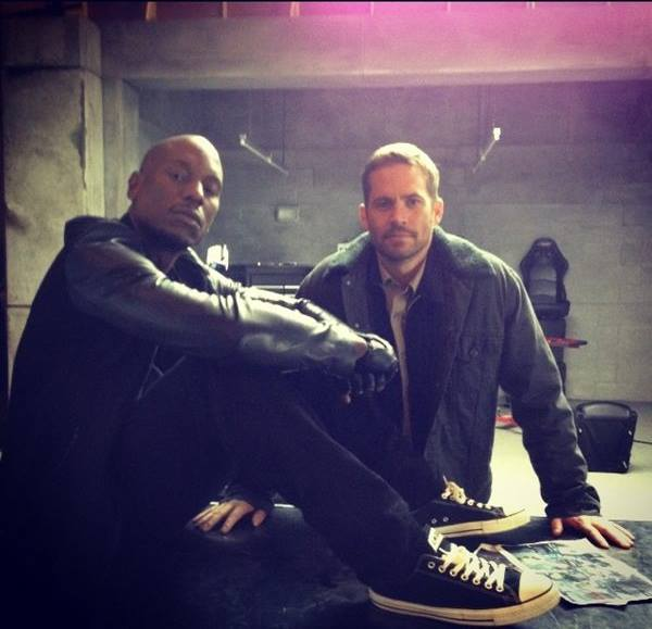 Tyrese and Paul Walker photo