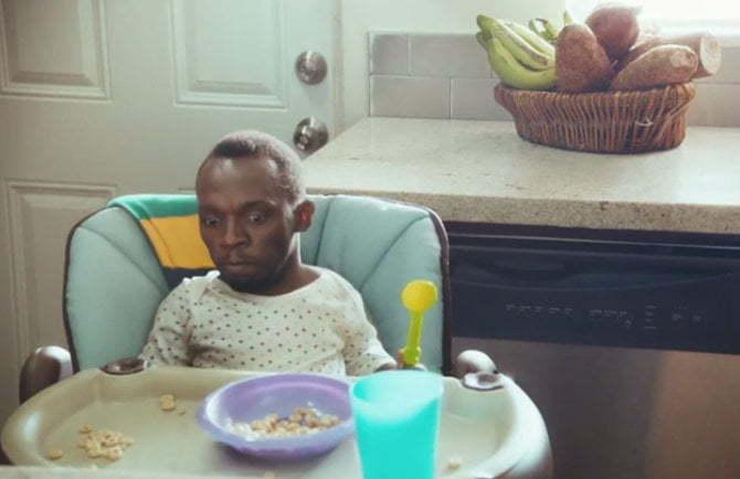 Usain Bolt baby
