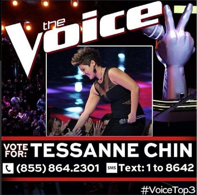 Vote for Tessanne Chin