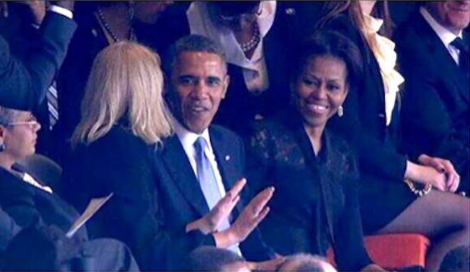 president obama michelle obama and denmark PM