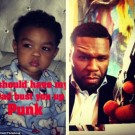 50 Cent and son Sire Jackson