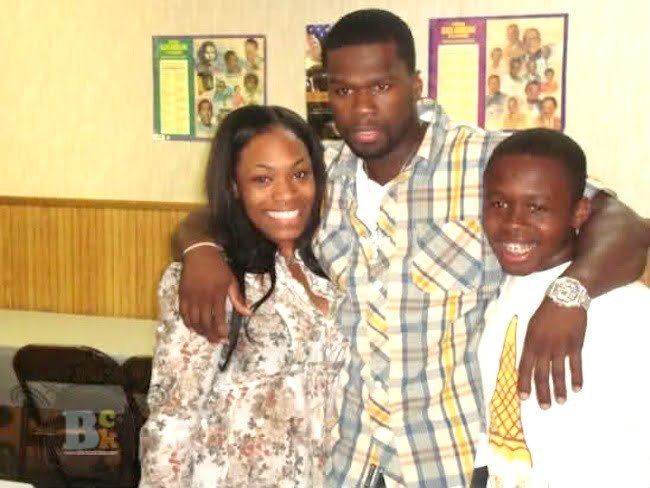 50 Cent and teenage son Marquise