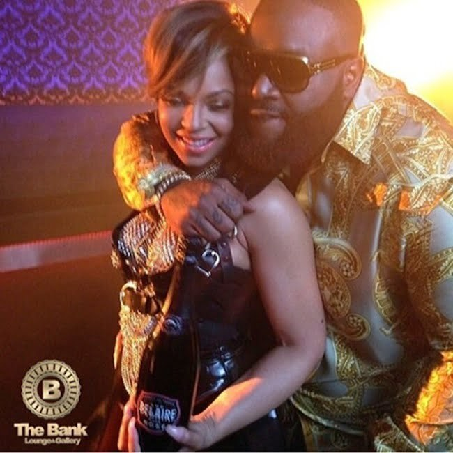 Ashanti and Rick Ross pic