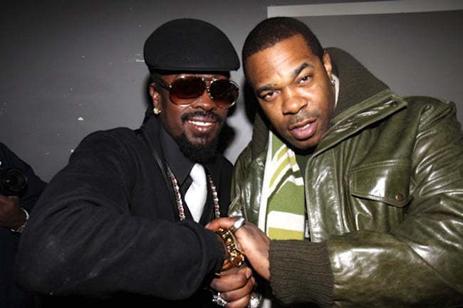 Beenie Man and Busta Rhymes