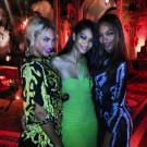 Beyibce CHanel Iman and Jourdan Dunn
