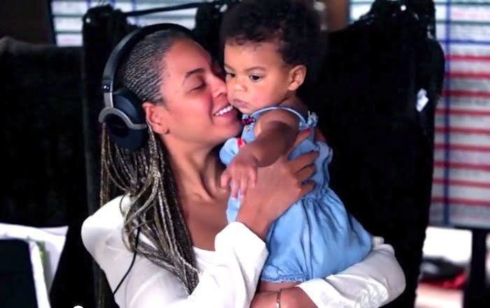 Beyonce and Blue Ivy 2014