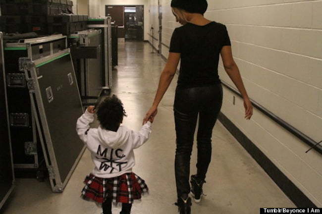 Beyonce and Blue Ivy photo 1