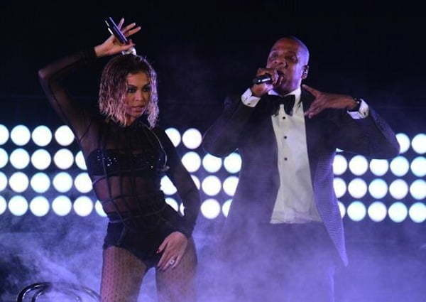 Beyonce and Jay Z Grammy