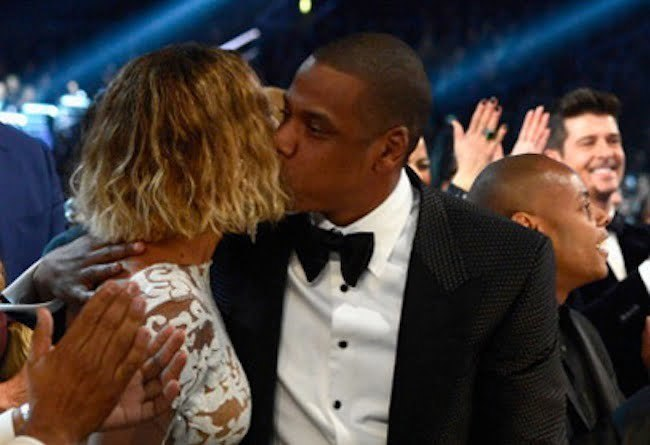 The Grammy Behind The Scenes: Jay Z, Beyonce, Pharrell & More [PHOTO]