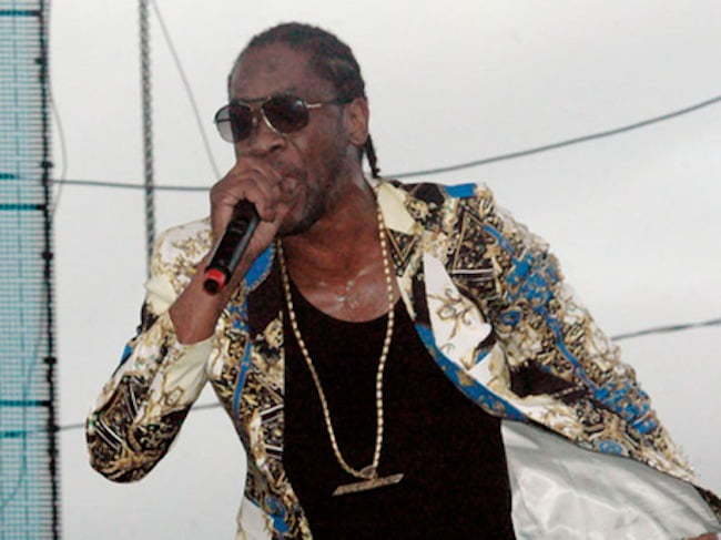 Bounty Killer rebel salute