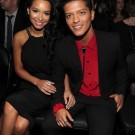 Bruno Mars and Jessica Caban