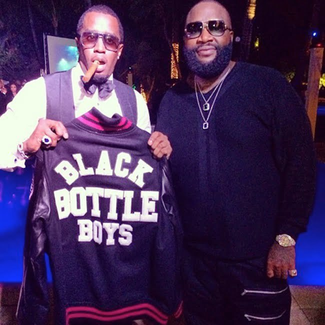 Diddy and Rick Ross