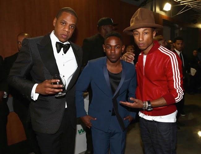 Jay Z Kendrick Lamar and Pharrell